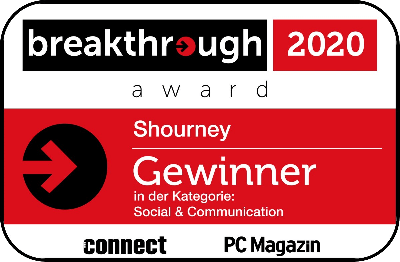 Breakthrough Award - shourney Kategoriensieger
