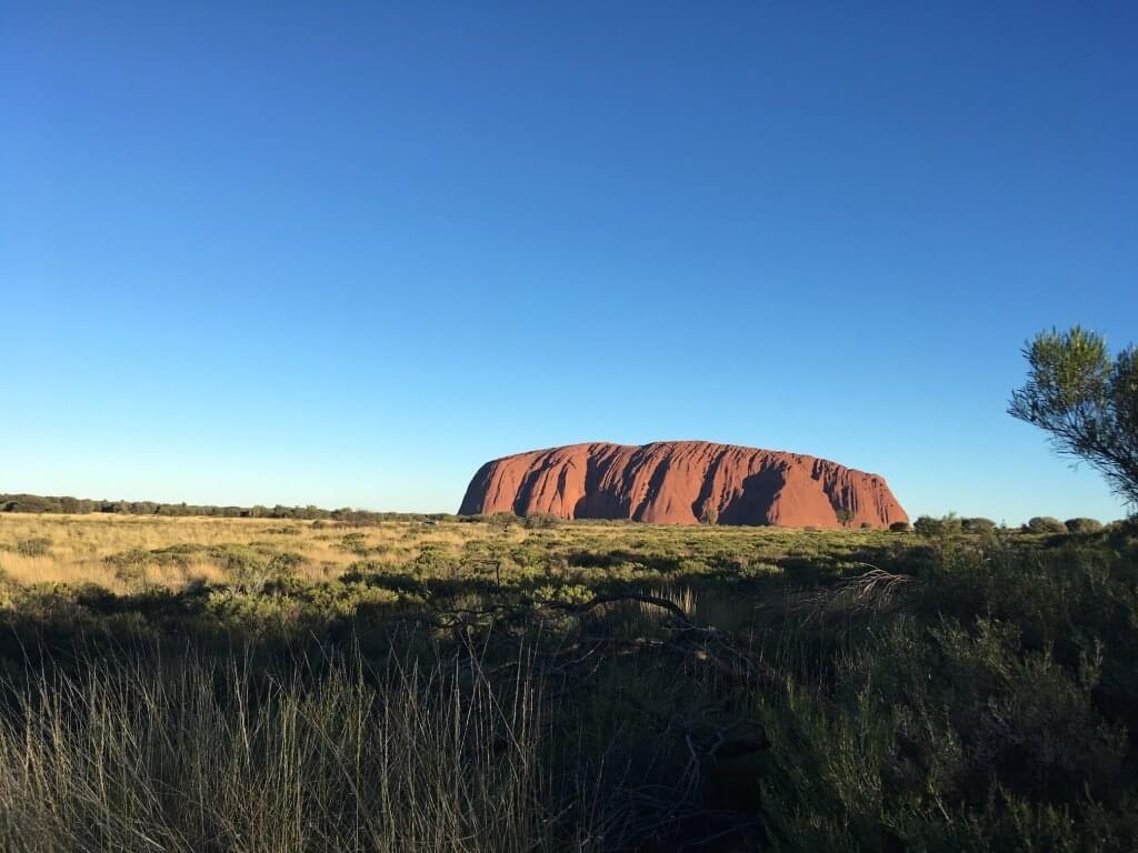 Ayers Rock; Australien oder Neuseeland - Natur